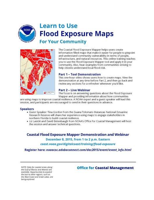 Handout - Using Flood Exposure Maps 508C (1)