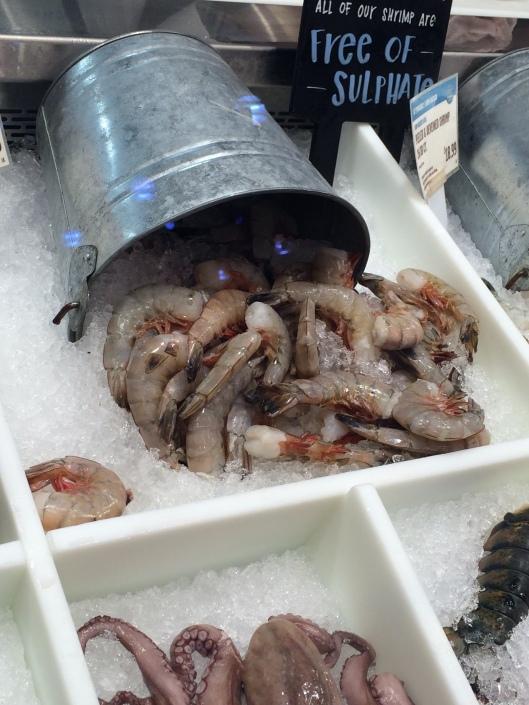Seafood Counter Shrimp