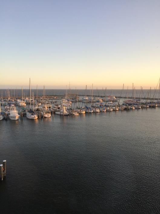 Boats sail Scene