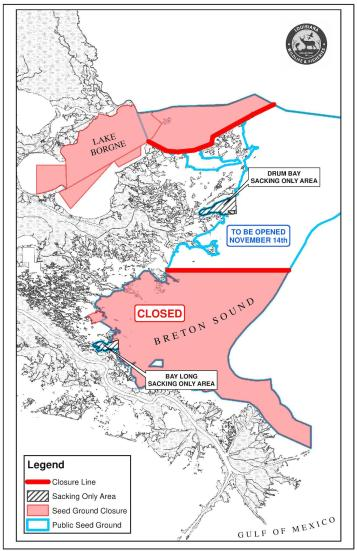 Oyster Areas